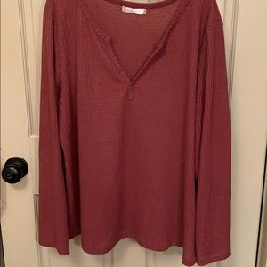 Women's thermal long sleeve top- sz xxl- new